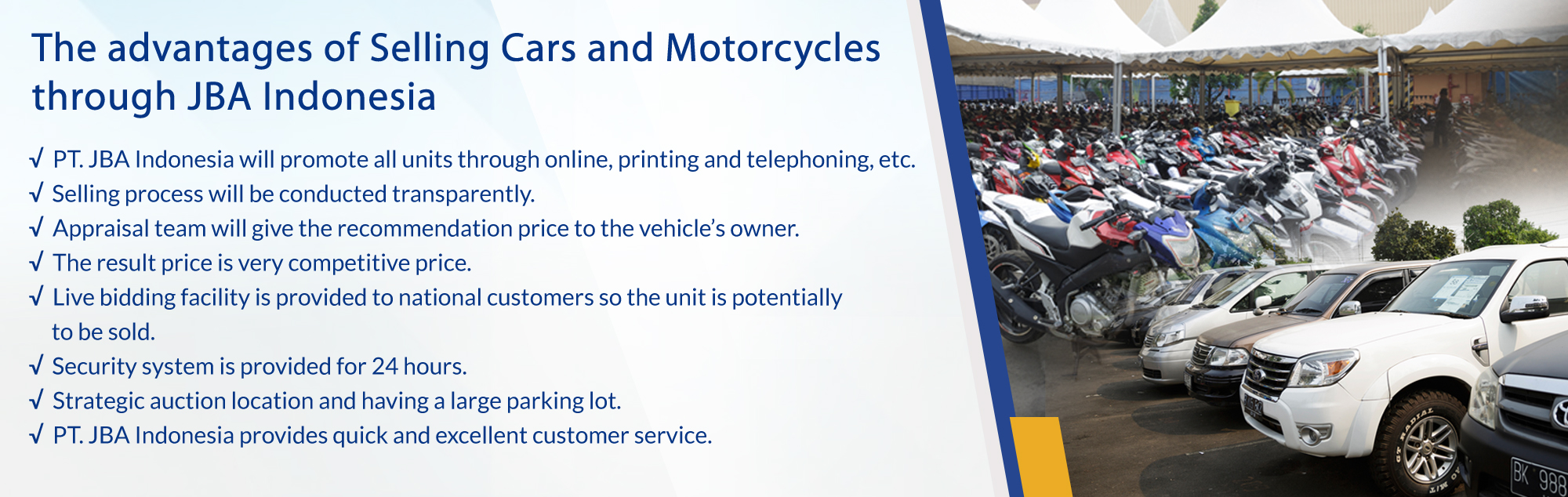 How To Buy Cars At Auction >> How To Sell Car And Bike Car And Bike Auction Pt Jba
