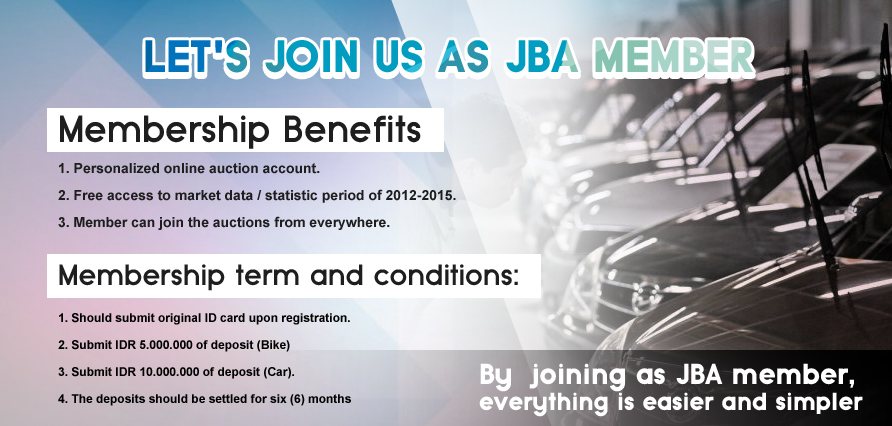 Car Auction Online >> How To Join Online Auction Pt Jba Indonesia