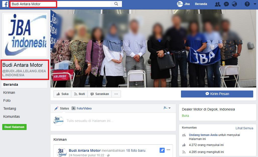 Hubungi Kami Pt Jba Indonesia